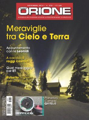 Articolo sui raggi cosmici di Marco Arcani